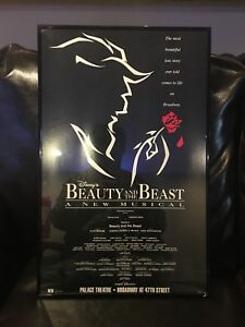 Terrence Mann Beast >> Details About Beauty And The Beast Broadway Movie Poster 27x40 Terrence Mann Susan Egan