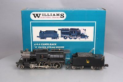 Williams 5015 Brass Jersey Central Camelback 4-6-0  Steam & Tender #1024 LN/Box