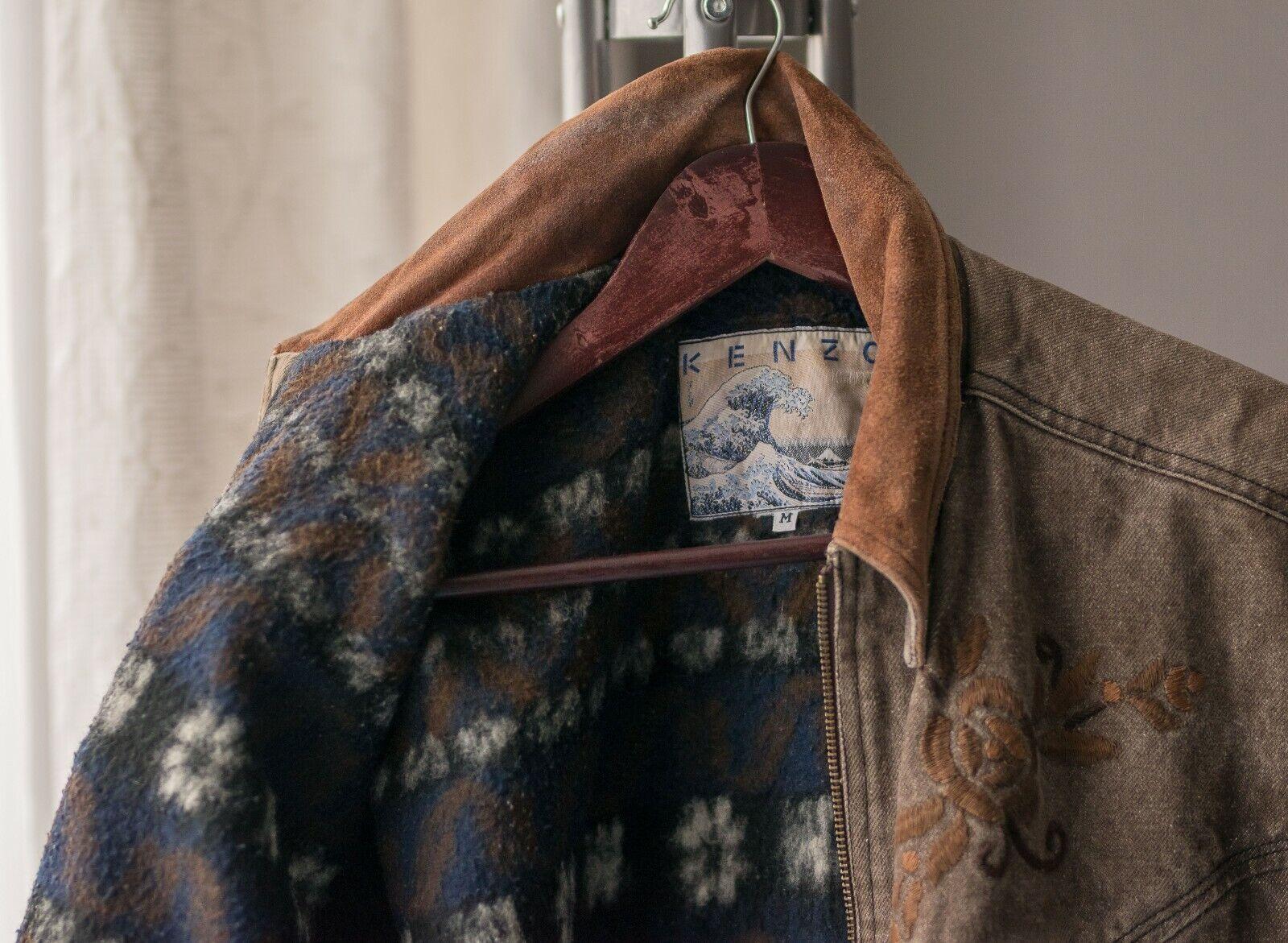 Women's Vintage 70's KENZO Blazer Retro Jacket Si… - image 7