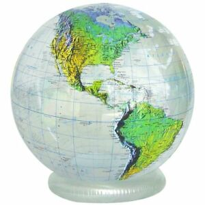 HUGE-Inflatable-Globe-Topographic-GTO-36TTR-36-034-Diameter-Great-classroom-tool