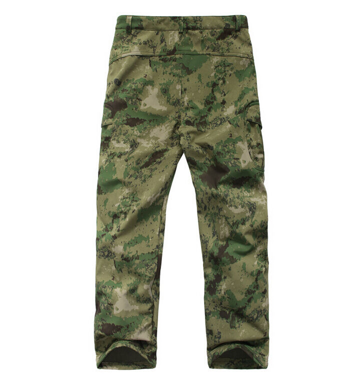 New Outdoor Sports Clothing Waterproof Hunting  Camping Camo Shark Skin Pants  offering 100%