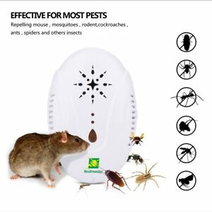 Details about Neatmaster Ultrasonic Pest Repellent Electronic Pest Control  Plug