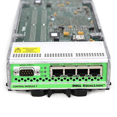 Dell EqualLogic 2GB 4-Port Control Module 7 E03M001 PS6000//6500 SATA//SAS