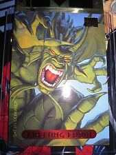 CARTE MARVEL MASTERPIECES GOLD FOIL SERIES 1994 N° 37 FIN FANG FOOM MINT CARD