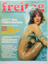 Freitag Nr 3/1978, Klaus Fischer, Matra Simca Rancho, Mirta Miller, Cole Marilyn
