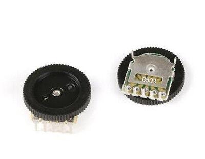 1Pcs B503 50K Duble Dial Potentiometer Volume//Tone Potentiometers
