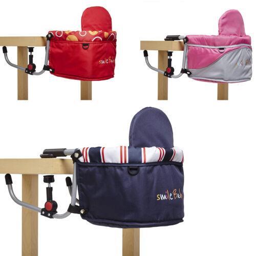 smileBaby Tischsitz Babysitz faltbar Baby Hochstuhl Sitzerhöhung