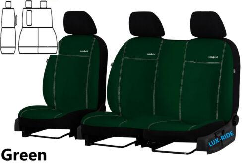 FORD TRANSIT CUSTOM VAN 2015 2016 2017 2018 2019 ALICANTE TAILORED SEAT COVERS