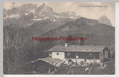 (105864) Ak Gruß Vom Eckbauer, 1916 Um Der Bequemlichkeit Des Volkes Zu Entsprechen