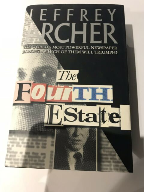 The Fourth Estate by Archer, Jeffrey Book