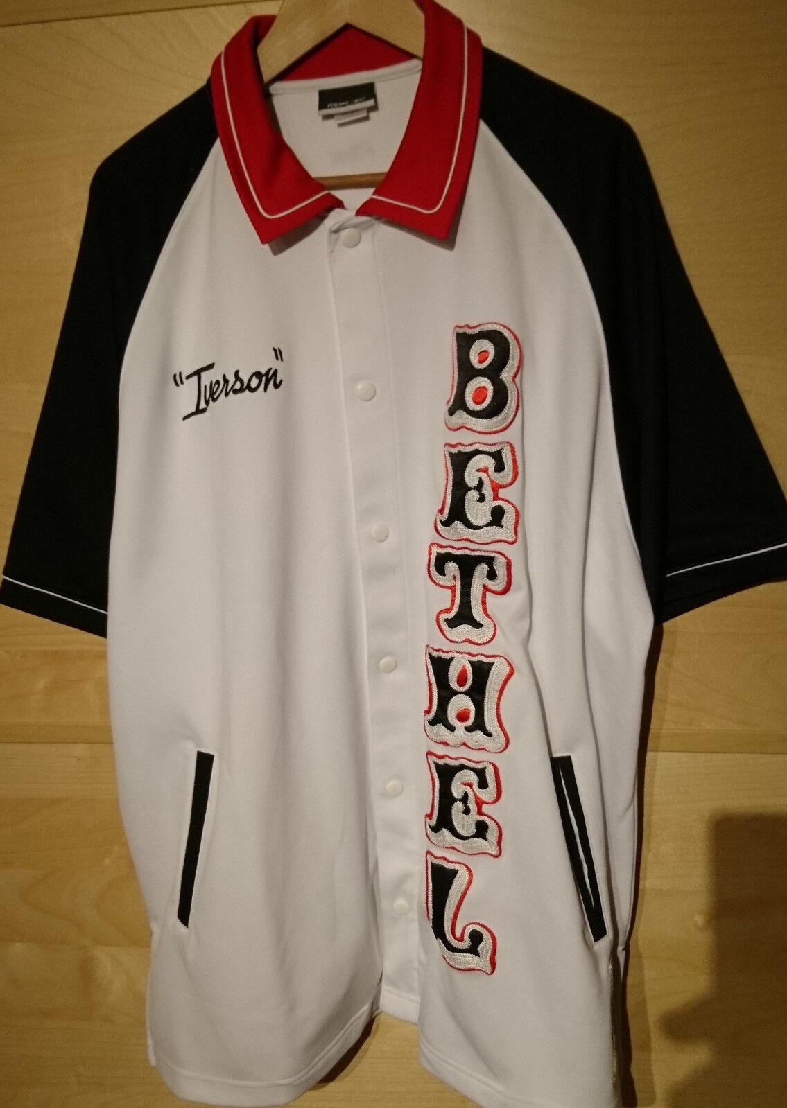Allen Iverson Bethel Bruins Bruins Bruins Shooting Jersey High School, Größe XL, USA,NBA,76ers 03624f