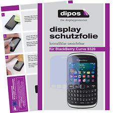 1x BlackBerry Curve 9320 Protector de Pantalla protectores transparente