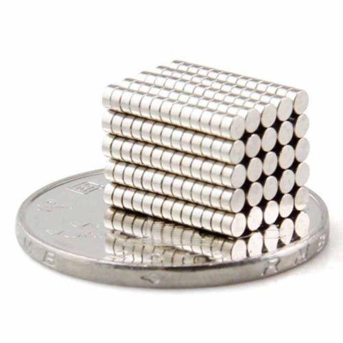 Tiny magnets 2x1 mm N52 grade neodymium disc small craft magnet 2mm dia x 1mm