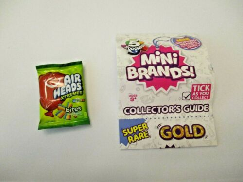 """Zuru 5 Surprise Mini Brands /""""Airheads Xtremes/"""" out of Ball NEW!"""