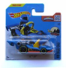 Hot Wheels Track Stars Ride On's Lets Go Racing Car 2016 New In Card