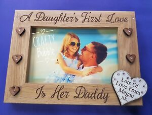 DAUGHTER-039-S-1st-love-is-her-Daddy-engraved-photo-FRAME-PERSONALISED-GIFT