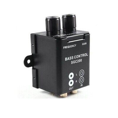 Universal Car//Home Amplifier Bass Control RCA Gain Level Volume Knob Controller