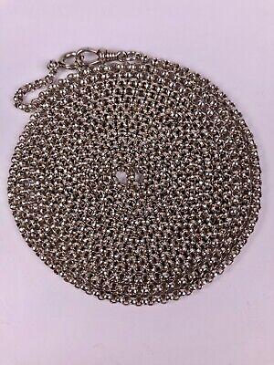 Ehrgeizig Alte 800 Silber Kette Collier Doppelkette Xxl 180cm Lang GüNstige VerkäUfe