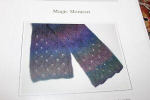 Jojoland Knitting Pattern Magic Moment Lace Scarf Ebay
