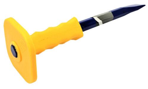 Vorel Flachmeißel Handmeißel Meißel mit Handschutz 25x300 mm Fugenmeißel Maurer