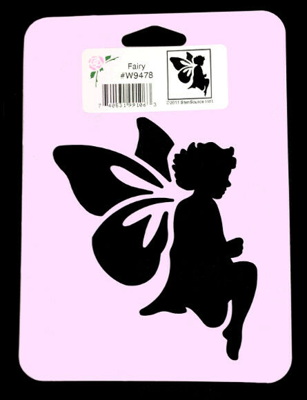 Fairy Stencil Wings Stencils Template Pattern Craft Paint Art New By Stensource