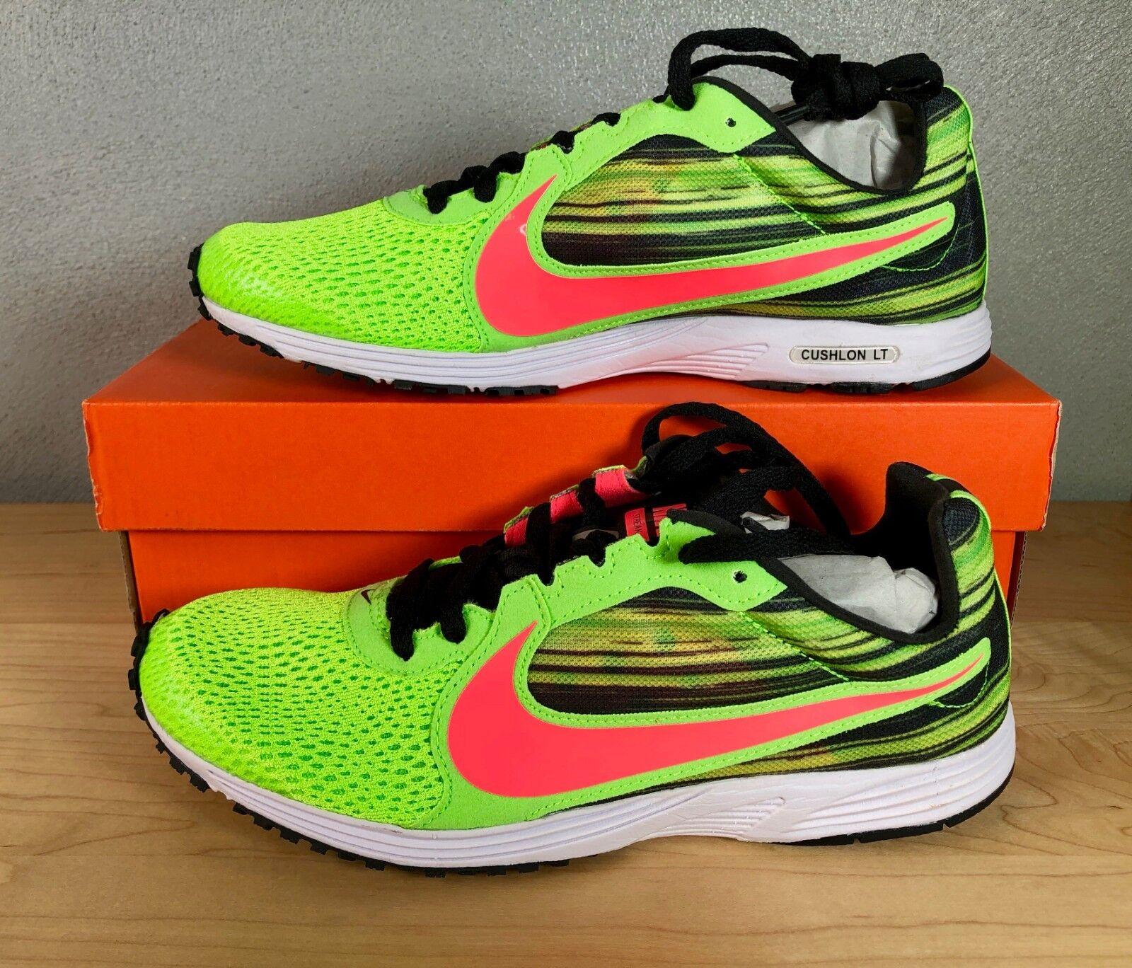 NEW Nike Zoom Streak LT 2 - Volt Punch Black Running Cross Training Unisex Sizes
