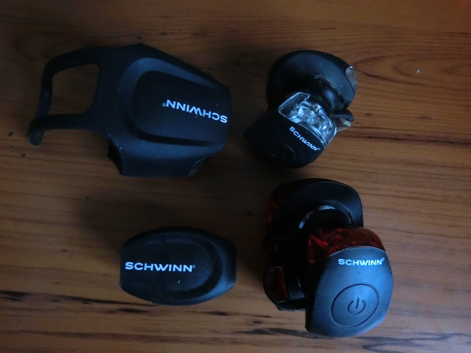 7 Schwinn Bicycle Lights Bundle