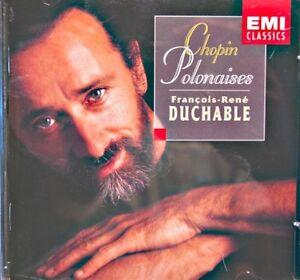 FRANCOIS-RENE-DUCHABLE-polonaises-CHOPIN-CD-1997-EMI-piano-EX