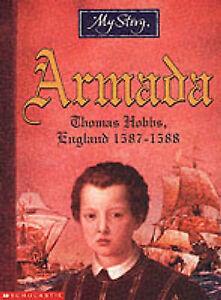 034-AS-NEW-034-Eldridge-Jim-Armada-The-Story-of-Thomas-Hobbs-England-1587-1588-My