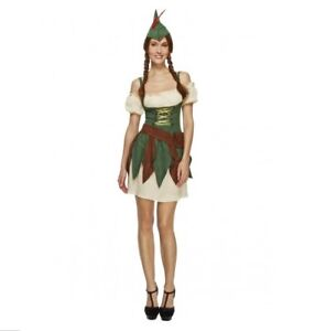 SEXY-ROBIN-HOOD-WOMEN-039-S-COSTUME-EXTRA-SMALL-SIZE-MELBOURNE