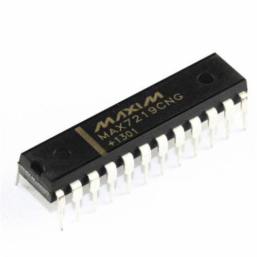 1//2//5PCS IC MAX7219CNG MAX7219 DIP-24 DRIVER LED DISPLAY 8DGT DIP