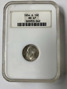 1954-S-10c-Roosevelt-Dime-NGC-MS-67