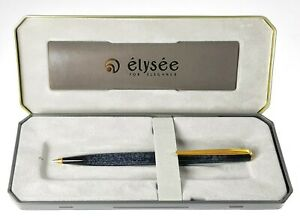 Mechanical-Pencil-0-1-32in-Elysee-Laque-Marble-Grey-With-Finishes-Gold-24k