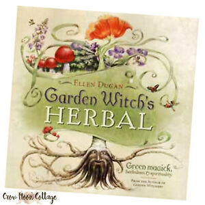 Book-GARDEN-WITCH-039-S-HERBAL-by-ELLEN-DUGAN-Green-Magick-Spirituality-Wicca-Pagan