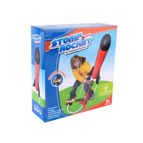 Kids Rocket Launcher and with LED Light for Boys Outdoor Toy Parents NEW SDY