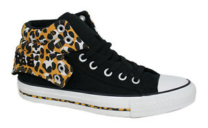 Converse CT All Stars PC2 Mid Tops Sneaker Uomo Stampa Leopardo Nero 141107F D33