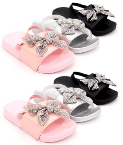 Vacaciones de verano playa fiesta Comodidad Plana deslizadores Niños Niñas Niños Sandalia Zapatos