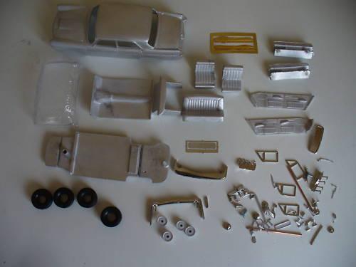 Austin A110 Mk II 1 43rd scale white metal kit by K & R Replicas