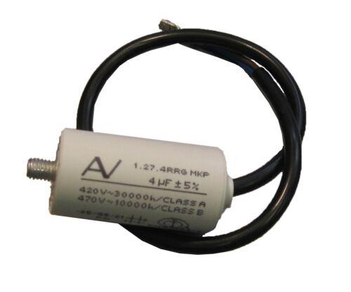 M8 Frigorifero Congelatore Hotpoint C00144815 Esegui condensatore 4Mf J00169900 ROHS
