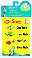 One Fish, Two Fish, Red Fish, Blue Fish Book And Cd (pb) By Dr. Seuss