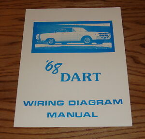 1968 dodge dart wiring diagram manual 68 ebay rh ebay com Green 68 Dart 72 Dart