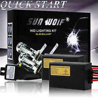 Xenon HID Conversion KIT Fast Start Headlight H1/3/7 H4 H13 9006 HB3 6000k 8000k