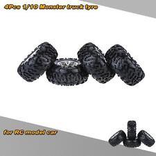 4Pcs/Set 1/10 Monster Truck Tire Tyres for Traxxas HSP Tamiya RC Model Car M9Z1