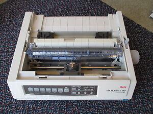 OKI-3390-GE7200B-24-Pin-MISSING-COVERS-USB-Dot-Printer-Stampante-Ad-Aghi