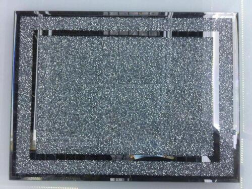 Crushed Diamant Cristal Argent à Découper Planche 30x40cm