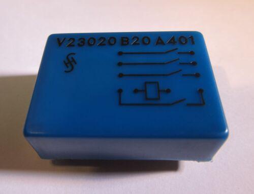 0,5A SIEMENS V23020-B0020-A401 24V 4 Schließer Schutzgasrelais