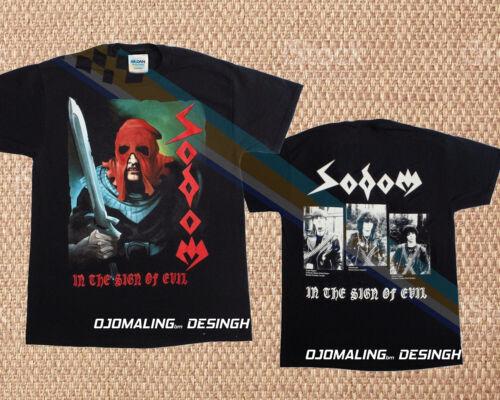 New T-shirt IN THE SIGN OF EVIL THRASH KREATOR EXUMER TANKARD All Size 36du1