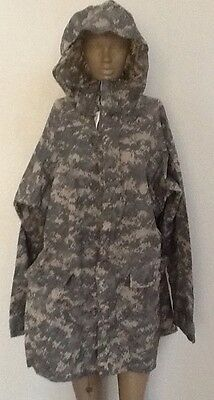ORC INDUSTRIES Parka Jacket Improved Rainsuit Digital Camo Camouflage M New NWT