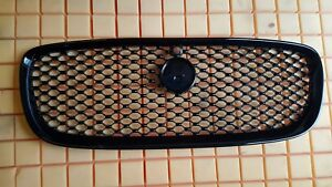 Brand NEW 2016 Genuine Jaguar XF Grille in Glossy Black with Camera hole