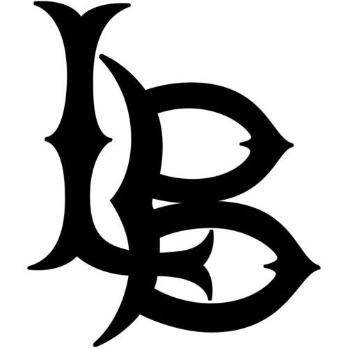 "Long Beach LBC 4/"" Logo Vinyl Decal Sticker LB State University City College #1"